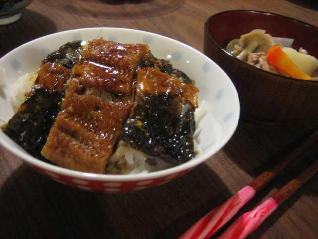Connaissez-vous うなぎ(unagi=anguille)?