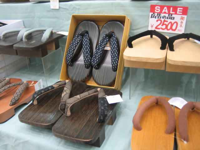 Women Geta Fashion Style Japonais pantoufles confortables Tongs Chaussures Taille